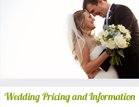 Wedding Pricing and Information