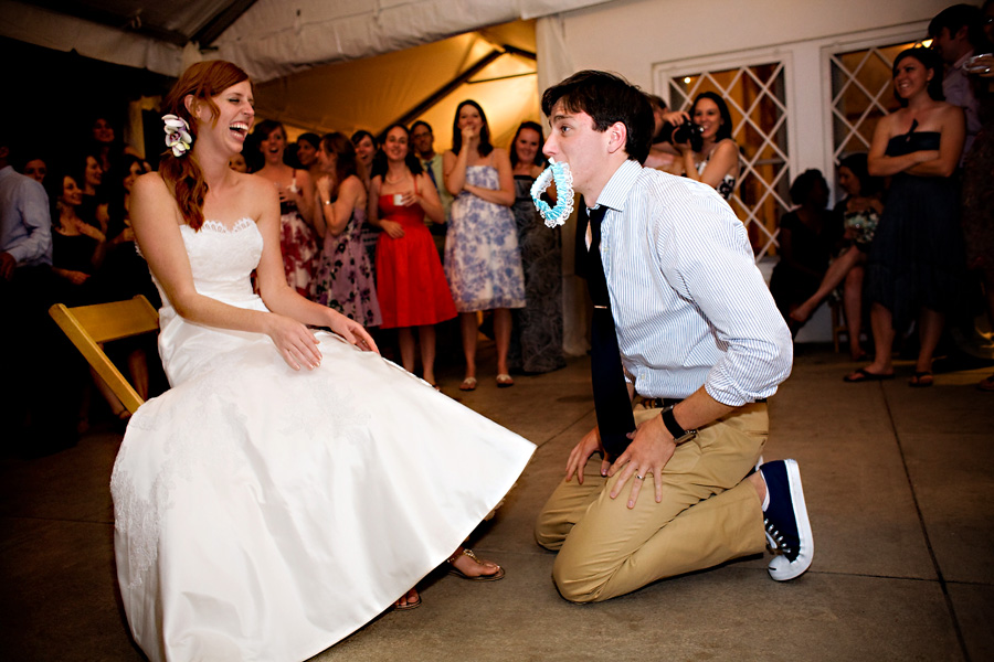 A Garter Toss Might Be The Weirdest Wedding Thing Ever